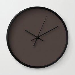"""Porstroke Taupe (Pattern)"" Wall Clock"