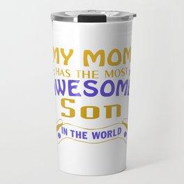 Awesome Son Travel Mug