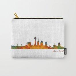 San Antonio City Skyline Hq v1 Carry-All Pouch