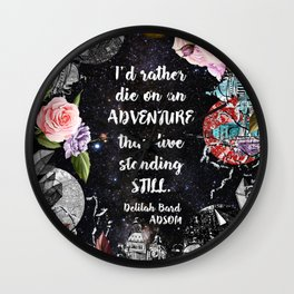 ADSOM - Adventure Wall Clock