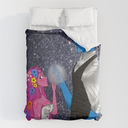 Lore Olympus Hades and Persephone Fan art Comforters