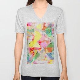 color splash Unisex V-Neck