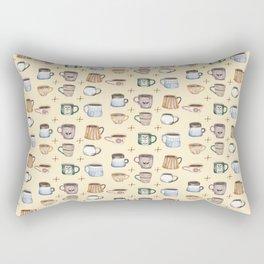 Cozy Coffee Rectangular Pillow