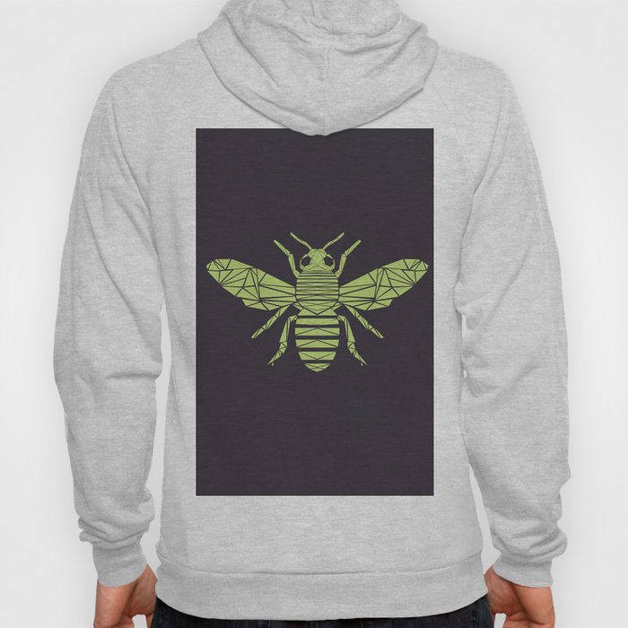 The Bee is not envious - Geometric insect design Hoody