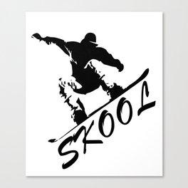 Boarding Skool -Snowboarding Canvas Print