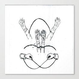 Hands That Bind Canvas Print
