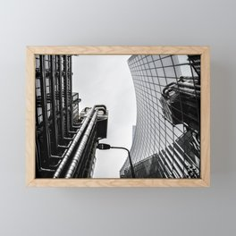 ArWork black white london art work photo Framed Mini Art Print