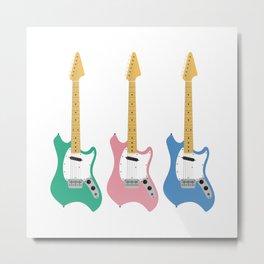 Strumming the guitar! Metal Print