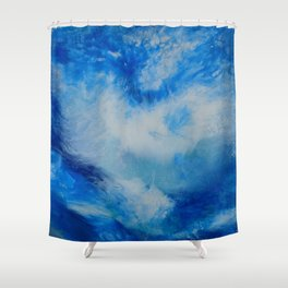 And the Heavens Opened up for Michael Shower Curtain