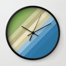 Rainbow of colors 2 Wall Clock