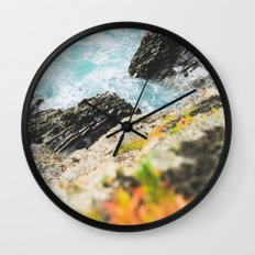 The sea and the color Wall Clock