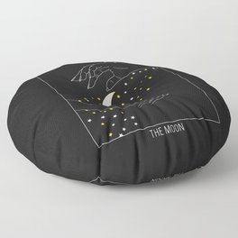 The Soon - Tarot Illustration Floor Pillow
