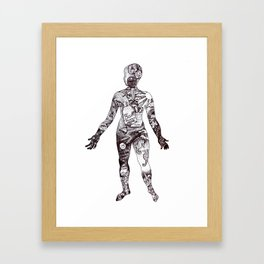Cabinet of Curiosity Figure Collective Collection Framed Art Print