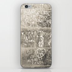 Street Chic- Barcelona iPhone & iPod Skin