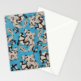 Speckled Koi Stationery Cards
