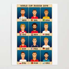 World Cup Russia 2018 Poster