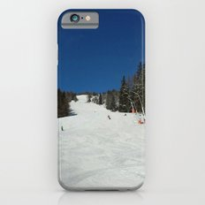 Great day for skiing Slim Case iPhone 6s