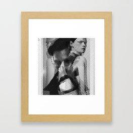 Cutting sharp Framed Art Print
