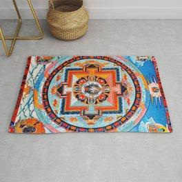 Hindu Buddhist Mandala 18 Rug