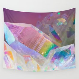 Opal Aura Quartz Crystal 1 Wall Tapestry
