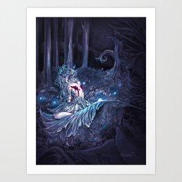 Broken Fairy Art Print