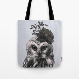 Portrait of Owl Tote Bag