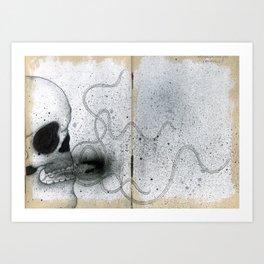 La Maldicion de la Calaca Art Print