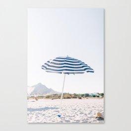 Throwing Shade Canvas Print