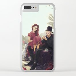 Dramione: Fairytale Clear iPhone Case