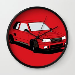 Daihatsu Charade DeTomaso 926R Wall Clock