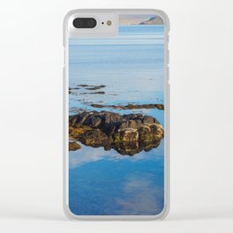 Low Tide at Drangsnes Clear iPhone Case