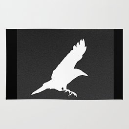 White Crow Rug