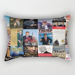 Donald Trump Books Rectangular Pillow