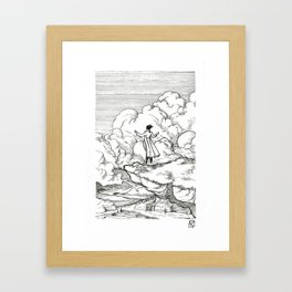 Buoy Framed Art Print