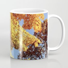 Autumn Leaves Color-Burst Coffee Mug