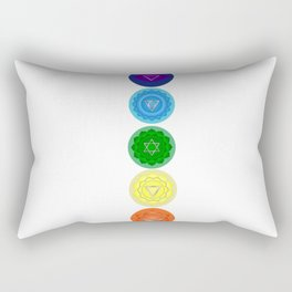 Chakras,Yoga,meditation art Rectangular Pillow