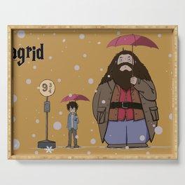 My Neighbor Hagrid となりのハグリッド Serving Tray