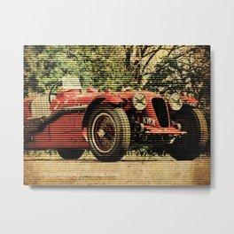 1939 Aston Martin 2 Litre Speed Model Metal Print
