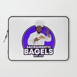 Marvin Bagley Sacramento Bagels Laptop Sleeve