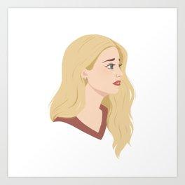 Teen Emma Art Print