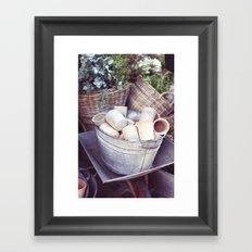 London Pots Framed Art Print
