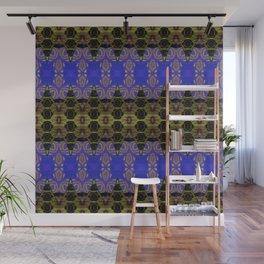 Ultra Lapis Blue Resonant Harmonic Boujee Boho Rococo Geometric Wall Mural