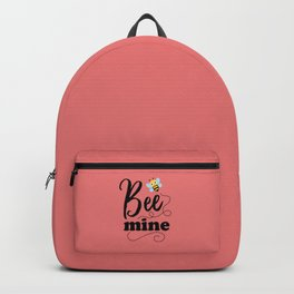 Bee Mine, Cute Valentines Backpack