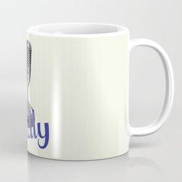 Vin Scully Mic Coffee Mug