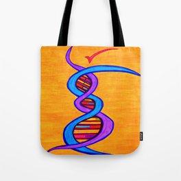 DNA Dancer Tote Bag