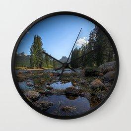 HDR Yosemite Wall Clock
