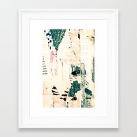 posters Framed Art Prints featuring Posters by Patterns and Textures