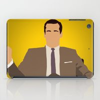 mad men iPad Cases featuring Don Draper - Mad Men by Tom Storrer