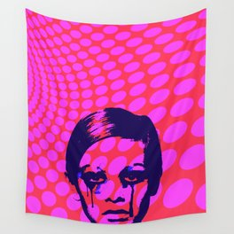 Iconic Twiggy Wall Tapestry