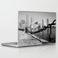 boston Laptop & iPad Skins featuring Boston by Gold Street Photography